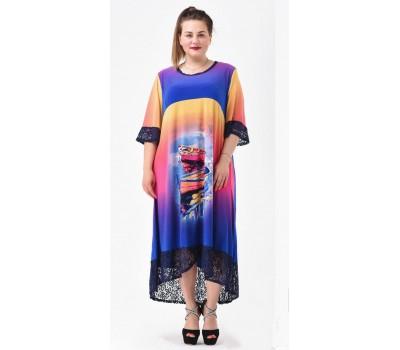 Платье Восход Солнца