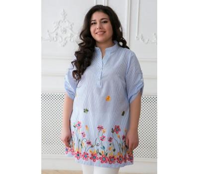 Летняя женская рубашка Верю в Сказку