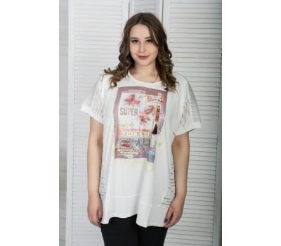 Женская футболка Аврил
